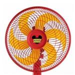 Ventilador Mallory Disney Mickey Mouse Ts, Vermelho e Amarelo, B94400812, Potência de 42W, 220V