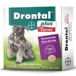 Vermífugo Drontal Plus Sabor Carne - Cães 10 Kg - Bayer