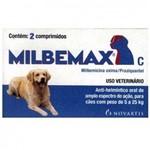 Vermífugo Milbemax de 5 a 25kg