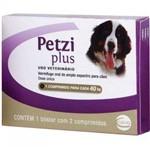 Vermífugo Petzi Plus 40kg