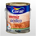 Verniz Coral Incolor Acrilico 3,6 Gl P/ Tijolo