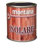 Verniz Isolare Resinosa para Madeira Incolor 900ml - MONTANA
