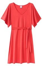 Vestido Amarração Malwee Vermelho - P