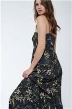 Vestido Amplo Bojo Recorte Verde Est Frir Verde - 36