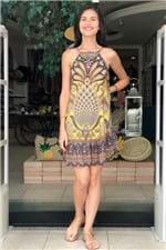 Vestido Babado Sabor de Abacaxi Farm - P
