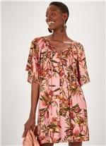 Vestido Bata Estampado Jambo ROSA M
