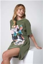 Vestido Be Free Verde Selva - P