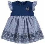 Vestido Bebê Milon Cotton e Tricoline M6138.6790.P