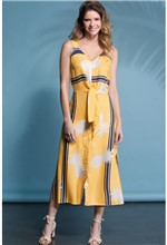 Vestido Bia Ipanema Amarelo-P