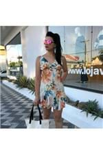 Vestido Botões Estampado Maxi Flor Farm - M