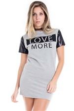 Vestido Camiseta Feminino Love More VE1718 - Kam Bess