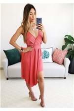 Vestido Colcci Assimétrico - Vermelho