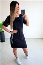 Vestido Colcci Fitness Curto Detalhe Tela