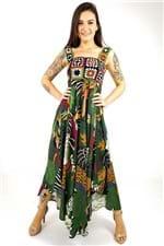 Vestido Crochet Bosque Tropical Farm - P