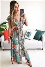 Vestido Cropped Farm Tunisia - Verde