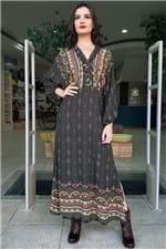 Vestido Cropped Massara Farm - P
