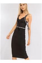 Vestido Curto com Elástico Silkado - 38