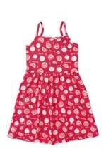Vestido Curto Evasê Menina Malwee Kids Rosa Escuro - 12