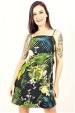 Vestido Curto Flora Farm - P