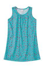 Vestido Curto Floral Menina Malwee Kids Verde Água - 6