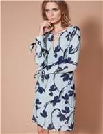 Vestido Curto Prímula Azul / P