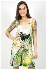 Vestido Curto Verão Tropical Farm - P