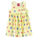 Vestido de Menina Love Amarelo - Kyly M