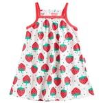 Vestido de Menina Moranguinho Vermelho - Kyly 1