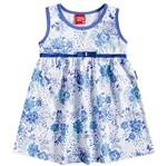 Vestido de Menina Pequena Donzela Azul - Kyly P