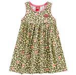 Vestido de Menina Princesas Fashion Amarelo - Kyly 1