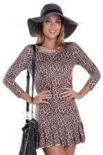 Vestido de Oncinha com Babado VE1116 - P