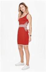 Vestido em Tricô Enfim Vermelho - G