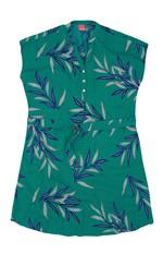 Vestido Estampado com Tira Wee! Verde - G
