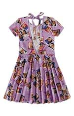 Vestido Evasê Barbie® Decote Costas Menina Malwee Kids Lilás - 4