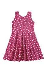 Vestido Evasê Cotton Menina Malwee Kids Rosa - 6