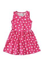 Vestido Evasê Estampado Menina Malwee Kids Rosa Claro - 1