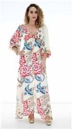 Vestido Farm Amplo Flare Floral OI19 271735
