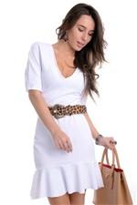 Vestido Feminino com Babado VE1081 - Kam Bess