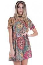 Vestido Feminino Estampa Jacquard Color VE1494 - Kam Bess