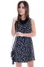 Vestido Feminino Evasê Estampado VE1359 - Kam Bess