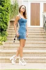 Vestido Feminino Justo de Alcinha VE1670 - Kam Bess