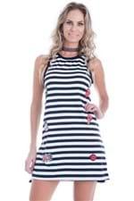 Vestido Feminino Regata Sweet Patches VE1722 - Kam Bess