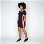 Vestido Fitness Poliamida Recorte VT040