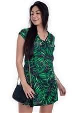 Vestido Floral com Ilhós VE1642 - Kam Bess