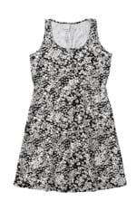 Vestido Floral Digital Malwee Branco - G