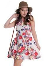 Vestido Floral Godê