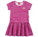 Vestido Infantil Corações Rosa - Kyly 1