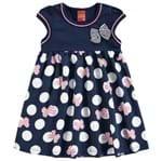 Vestido Infantil Kyly Cotton e Meia Malha 109112.6805.1