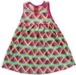 Vestido Infantil Melancia Rosa - Kyly P
