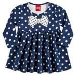 Vestido Infantil Menina em Molicotton 206312.6783.M